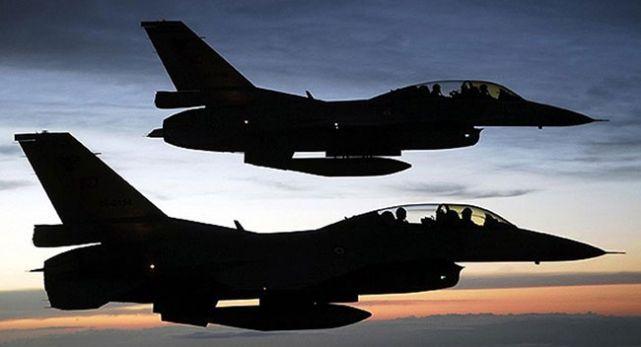 PKK Hedefleri Savaş Uçaklarıyla Vuruldu
