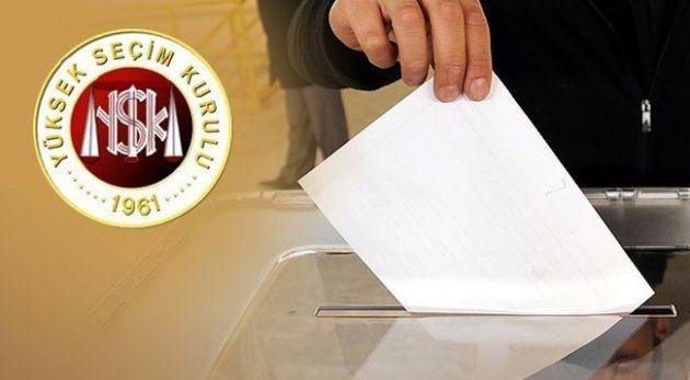 YSK'dan 1 Kasım İçin Seçim Hazırlığı