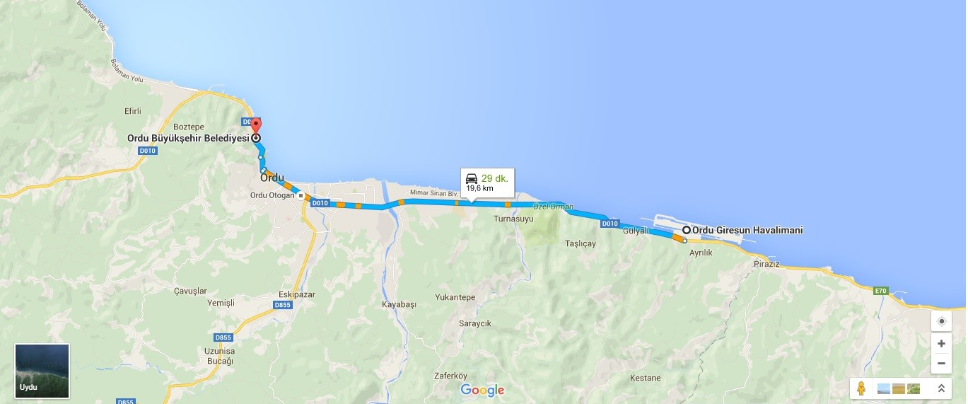 8--- 19,6 Km ordu bel - orgi
