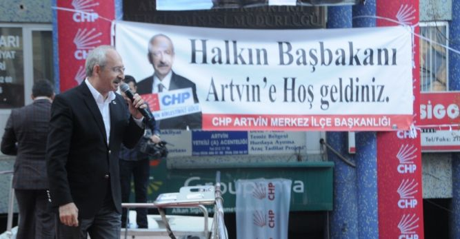 Kılıçdaroğlu Artvin'e Geliyor
