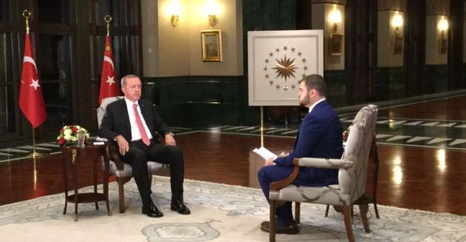 """Erdoğan: """"Muhalefet Liderleriyle Görüşmek Bir Onurdur"""""""