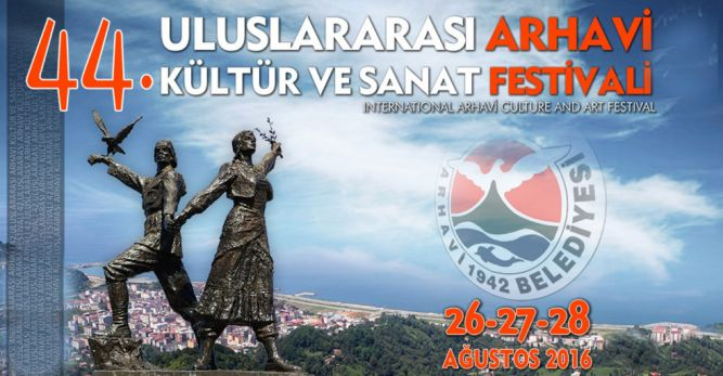 Arhavi Kültür ve Sanat Festivali Başladı