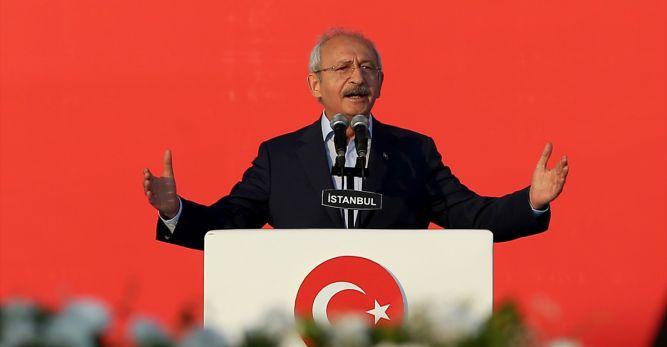 Kılıçdaroğlu'ndan Yenikapı'da 12 Maddelik Bildiri