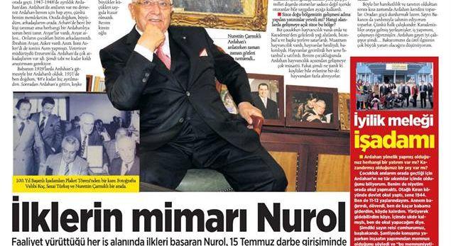 Yarım Asırlık Çınar Nurol Holding
