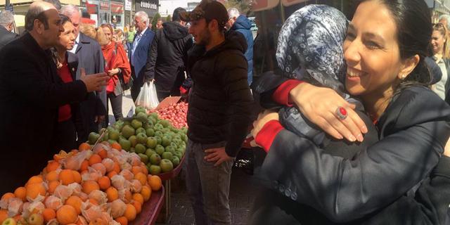 Arhavi'de Volkan Canalioğlu ve Gülay Yedekçi'nin 'Hayır' Rüzgarı