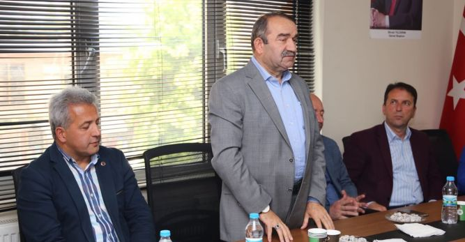 Ak Parti Artvin Milletvekili İsrafil Kışla Arhavi'de