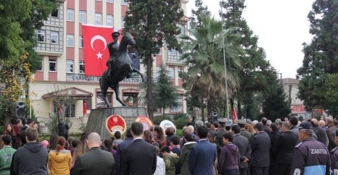 Büyük Önder Mustafa Kemal Atatürk Ölümünün 79. Yılında Saygı, Minnet ve Rahmetle Anıldı