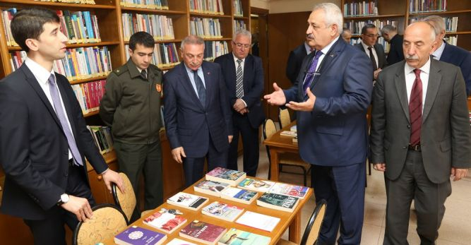 Kütüphaneler Haftası Kutlamaları Nermin Çarmıklı Halk Kütüphanesi'nde Gerçekleştirildi