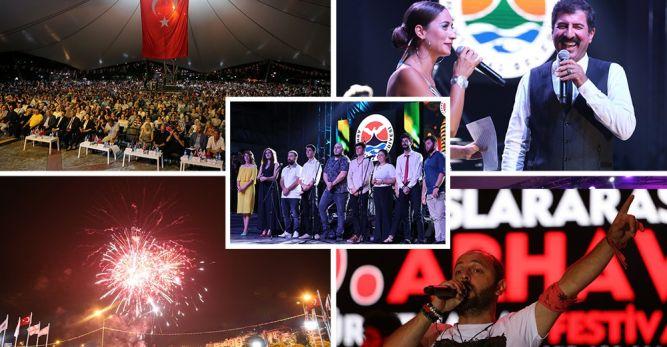 46 .Uluslararası Arhavi Kültür ve Sanat Festivali Tamamlandı