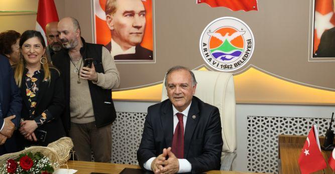 Vasfi Kurdoğlu Mazbatasını Alarak Göreve Başladı