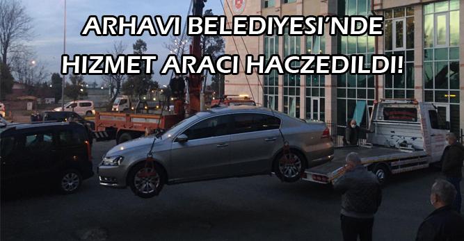 CHP'nin AKP'den Aldığı Arhavi Belediyesi'ne Haciz Şoku!